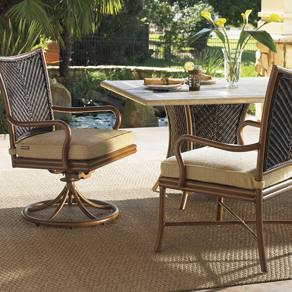 Island estate lanai dining set by tommy bahama outdoor for Outdoor lanai furniture