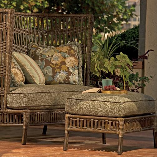 Kingston deep seating wicker patio furniture by lane for Furniture kingston