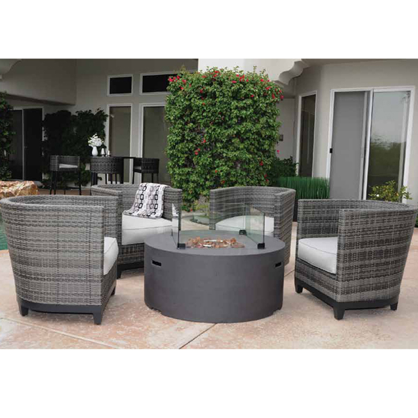 La Danta Fire Pit by Leisure Select
