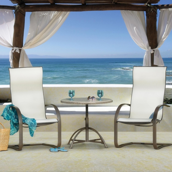 Lana Sling Dining Collection By Homecrest Family Leisure