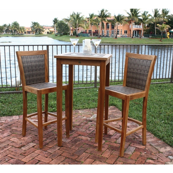 Leeward Islands Bar Height Collection by Panama Jack Outdoor Furniture