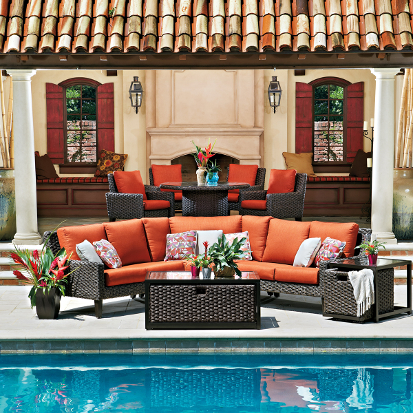 Elegant Mid Century Modern continues to be a front runner for style of all kinds including patio furniture Mid Century Modern defines those