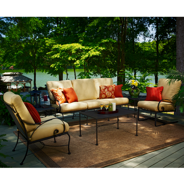 Monticello Deep Seating Collection by Meadowcraft Patio Furniture
