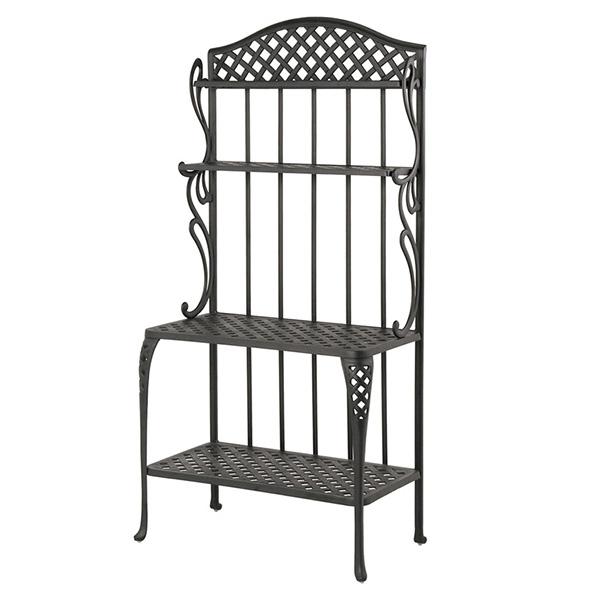 Newport Baker S Rack By Hanamint Outdoor Patio Furniture