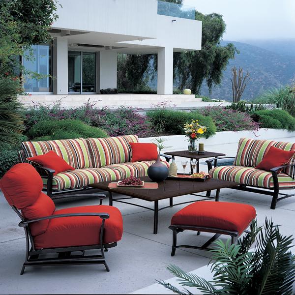 Ovation cushion deep seating patio furniture by tropitone for Tropitone patio furniture