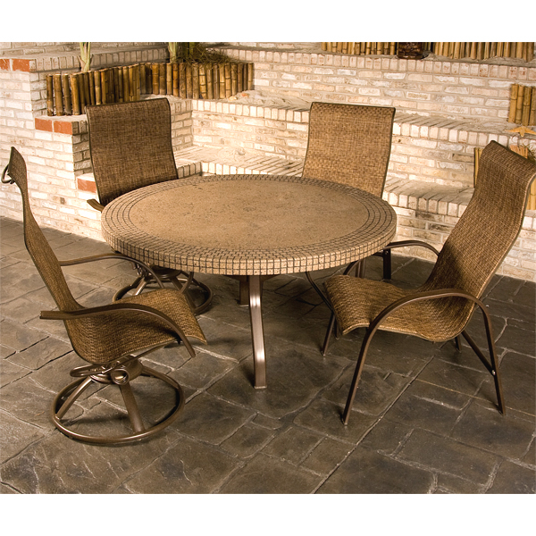 Homecrest patio furniture introduces the palisade family for Homecrest patio furniture