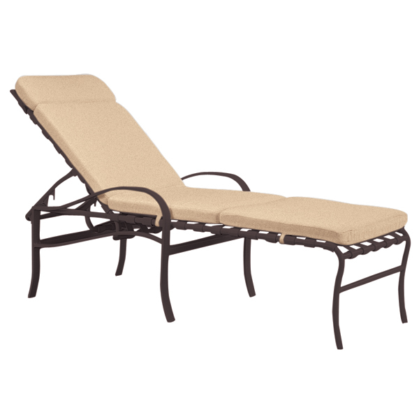 Palladian Strap Chaise Lounge by Tropitone