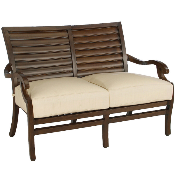 Palm Wrought Aluminum Deep Seating Patio Furniture by Summer Classics