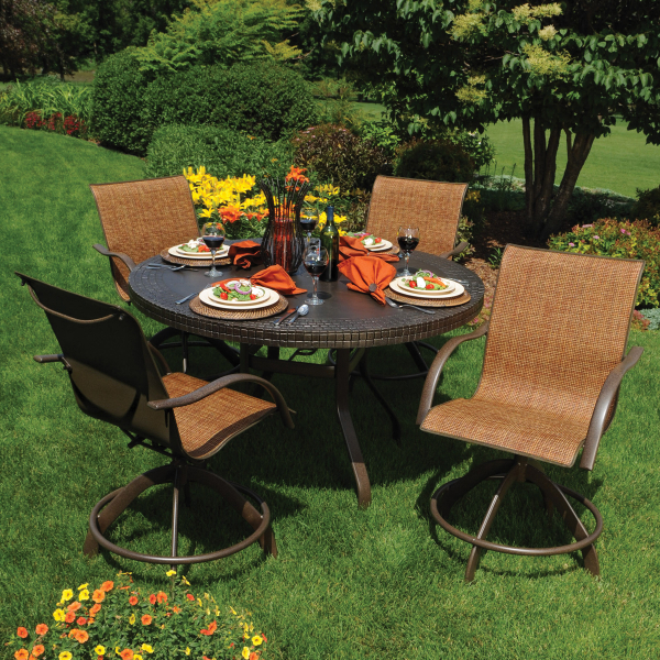 Palm bay sling by homecrest outdoor living family leisure for Homecrest outdoor furniture