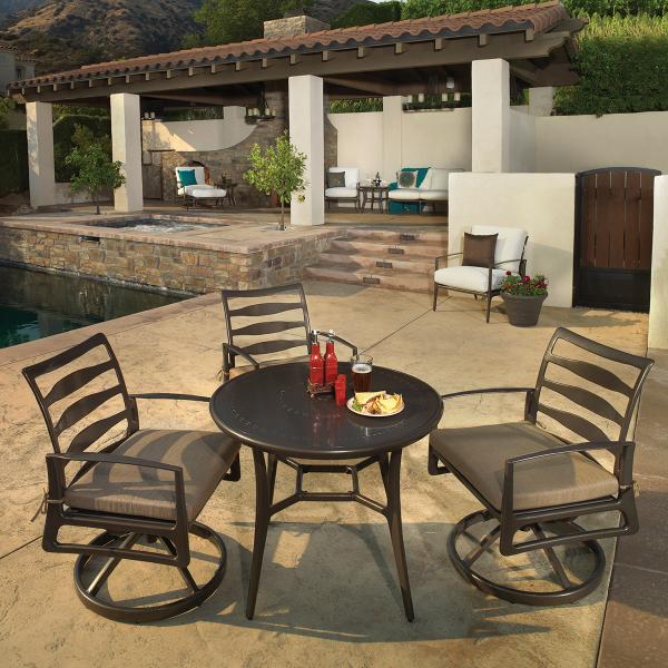 Phoenix dining chair rocker by gensun outdoor