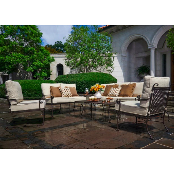 Preston Deep Seating Collection By Meadowcraft Outdoor