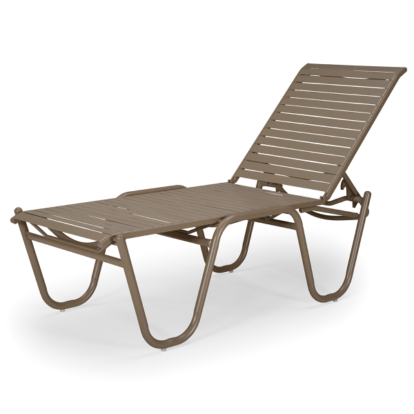 Reliance High Bed Contract Strap Chaise Lounge By Telescope Casual Outdoor Furniture Family