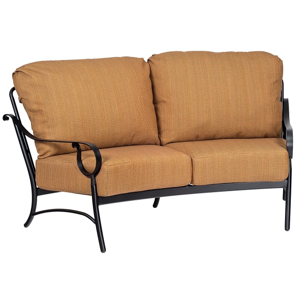 Ridgecrest Cushion Deep Seating Set By Woodard Family Leisure
