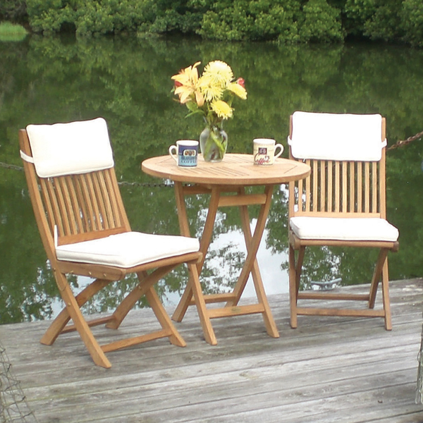 Free Shipping On Sailor Teak Bistro Patio Furniture