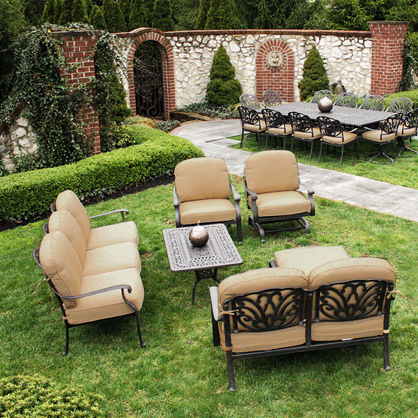 Blogs Heres A Review Of Cast Aluminum Extruded Aluminum - Outdoor patio furniture manufacturers