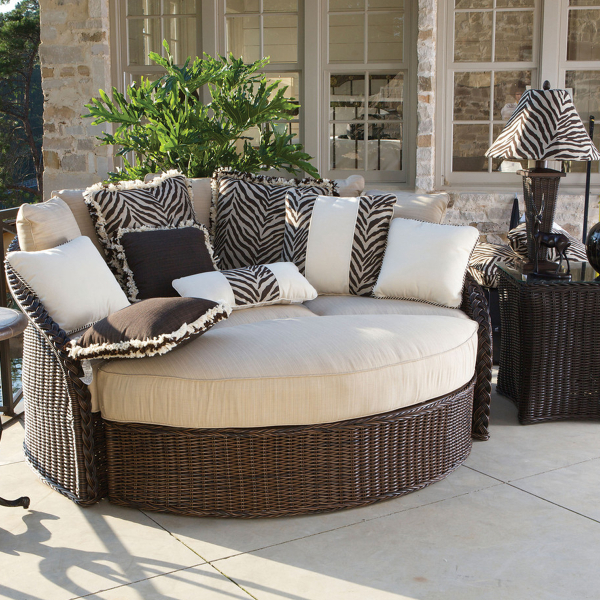 Sedona Wicker Daybed By Summer Classics Outdoor Furniture Family Leisure