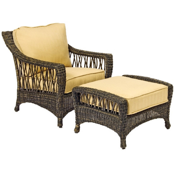serengeti wicker deep seating set by woodard garden furniture