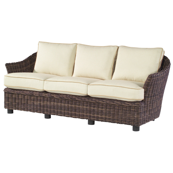 sonoma wicker deep seating set by woodard family leisure