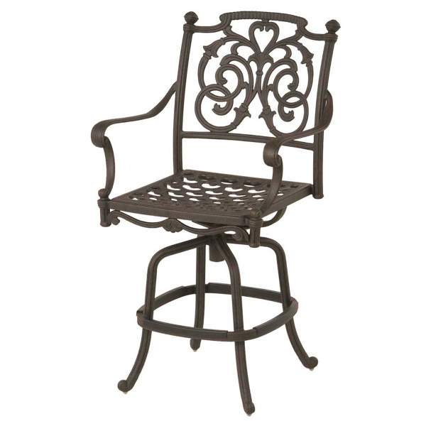 St Augustine Counter Height Bar Stool Patio Furniture By