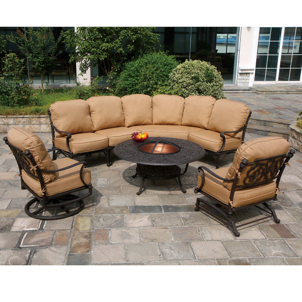 st augustine deep seating cast patio furniture by hanamint family