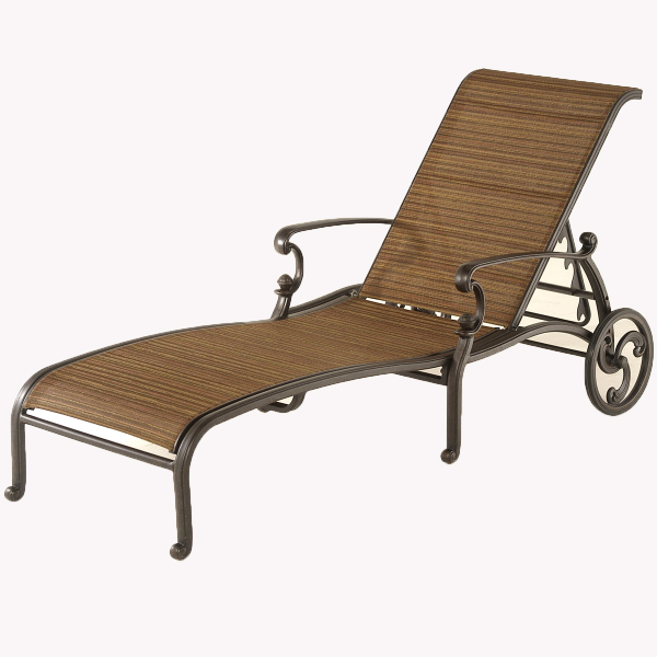 St Augustine Sling Chaise Lounge by Hanamint