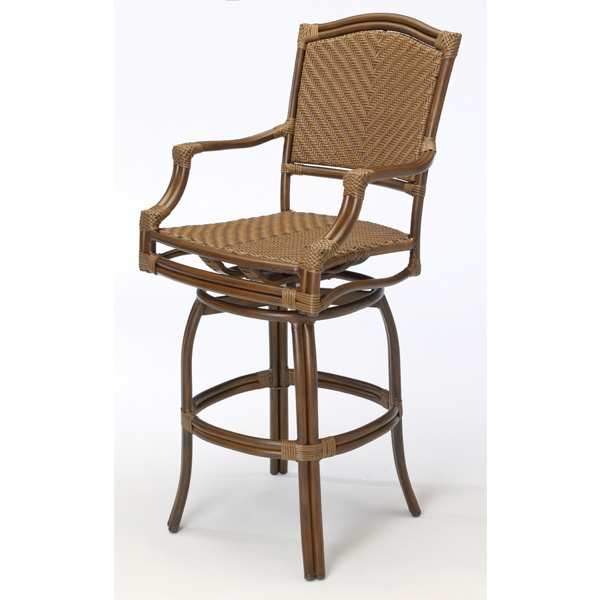 St Croix Outdoor Patio Bar Stools by Summer Classics
