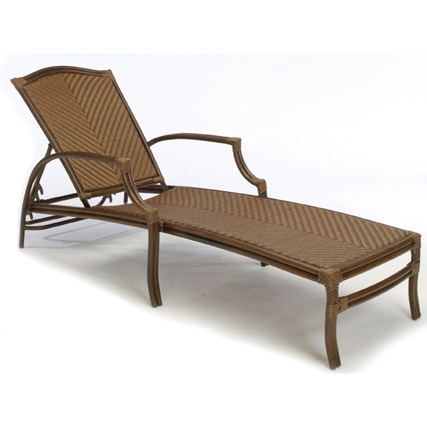 St croix outdoor chaise lounge by summer classics for Casual chaise lounge