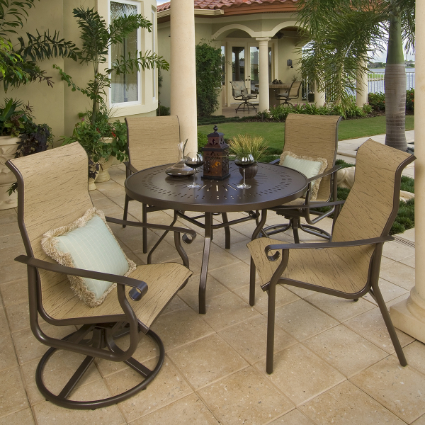 St Croix Sling Dining Collection by Windward Design Group
