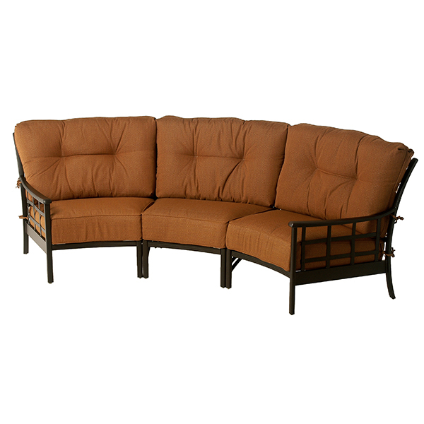 Stratford Estate Deep Seating Crescent Sectional