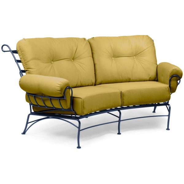 Terrace Wrought Iron Deep Seating Patio Furniture by Woodard