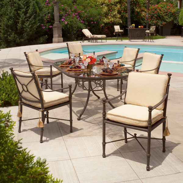 Toledo dining collection by woodard landgrave family leisure