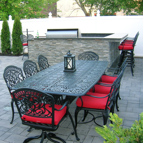 Look for vibrant accent colors in both cushions and patio ...