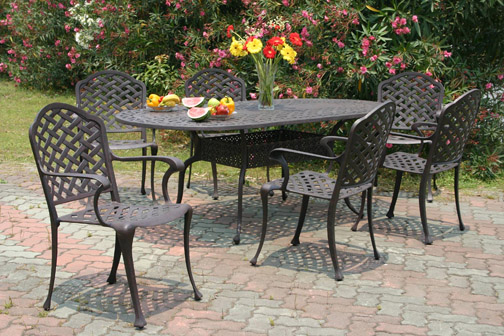 Vermont Dining Patio Furniture By Hansen Family Leisure