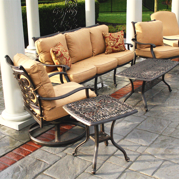 victoria deep seating patio furniture by alfresco family leisure
