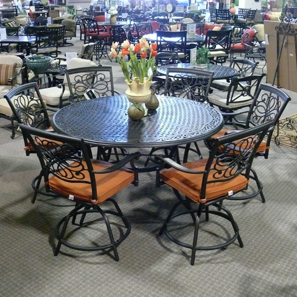7 Piece Vista Counter Height Patio Dining Set