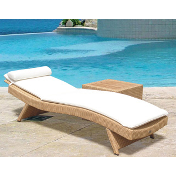Wave Sun Bed Chaise Lounge By Royal Teak Collection