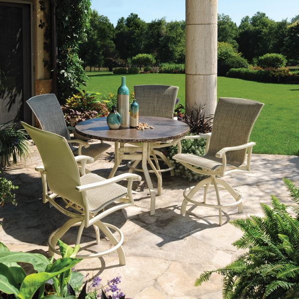 wescott sling balcony height by homecrest outdoor family