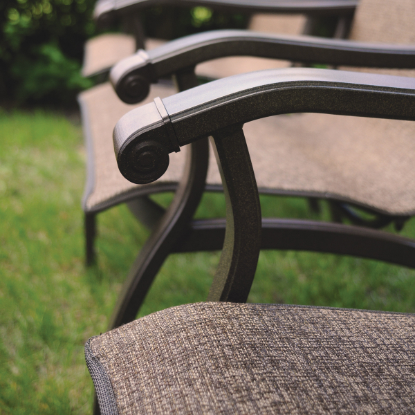 Wescott Sling Balcony Stool By Homecrest Outdoor Living