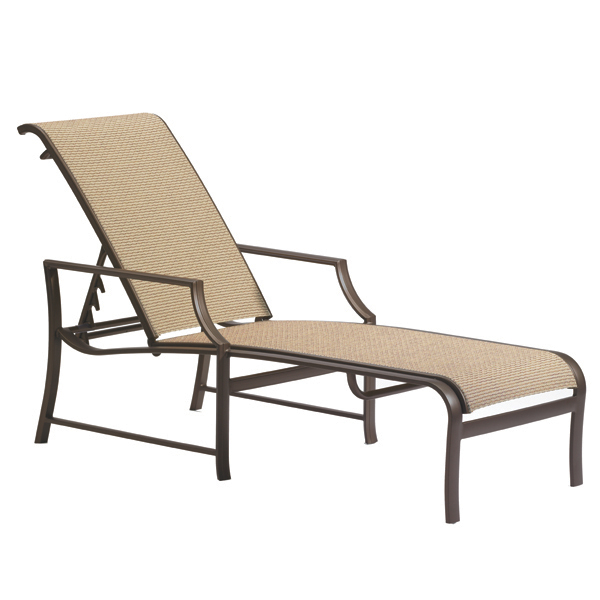 Windsor Chaise Lounge by Tropitone | Free Shipping Family Leisure ...