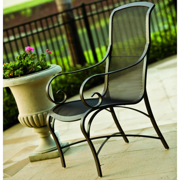 Wingate Mesh Outdoor Dining Set by Woodard Outdoor Furniture