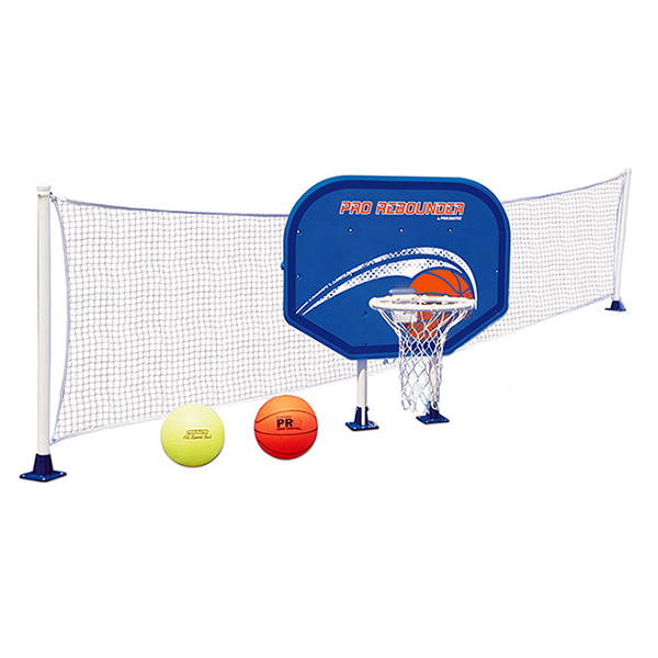 Basketball Volleyball Combo Set By Poolmaster Pool Supplies Family Leisure