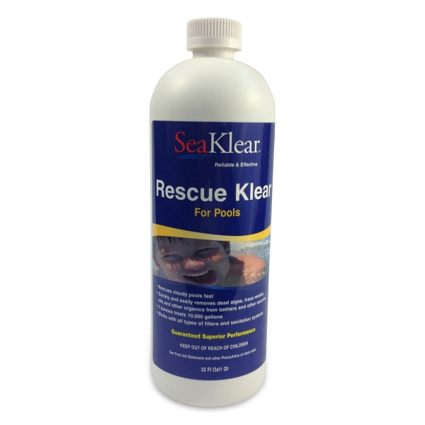 Rescue klear by seaklear by family leisure family leisure - This gas helps keep swimming pools clean ...