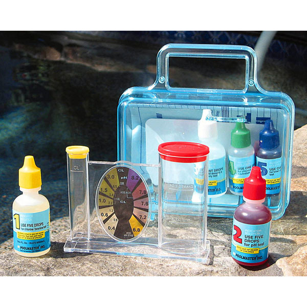 pool water test kit conditioner ph chlorine alkalinity by swimline family leisure. Black Bedroom Furniture Sets. Home Design Ideas