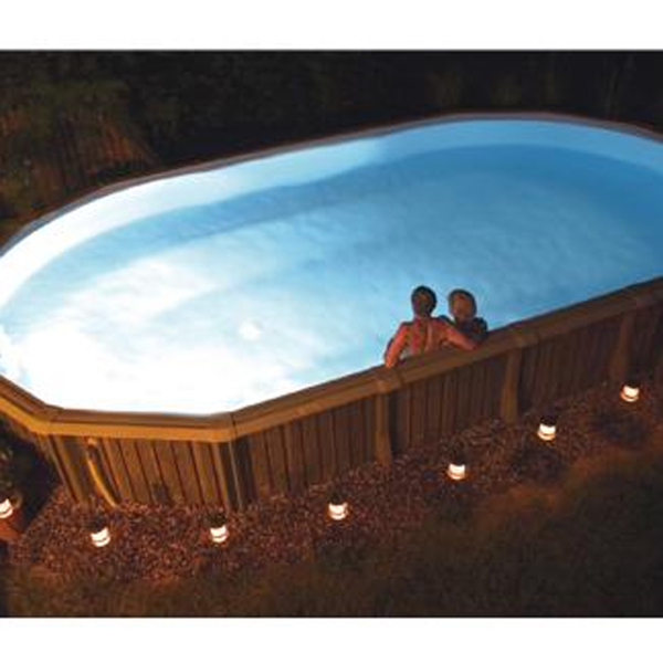 light for above ground pools by smartpool family leisure pool. Black Bedroom Furniture Sets. Home Design Ideas
