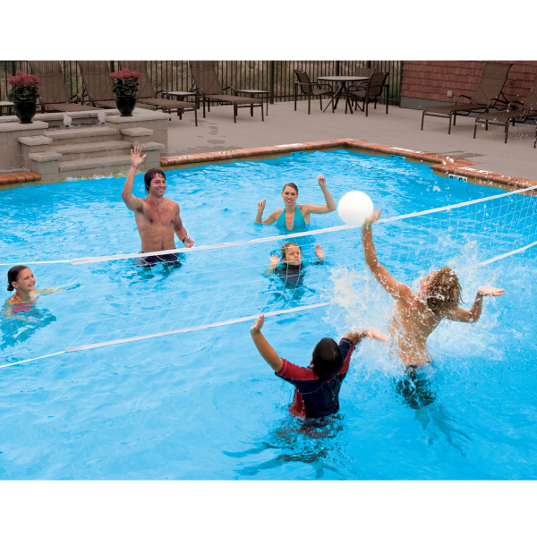 Poolside Volleyball Set By Swimways Family Leisure
