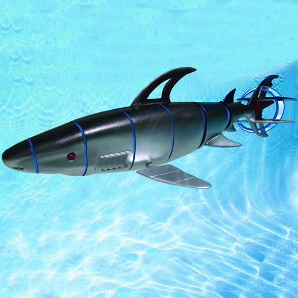 Free Shipping Rc Cyborg Shark Swimming Pool Toy Pool