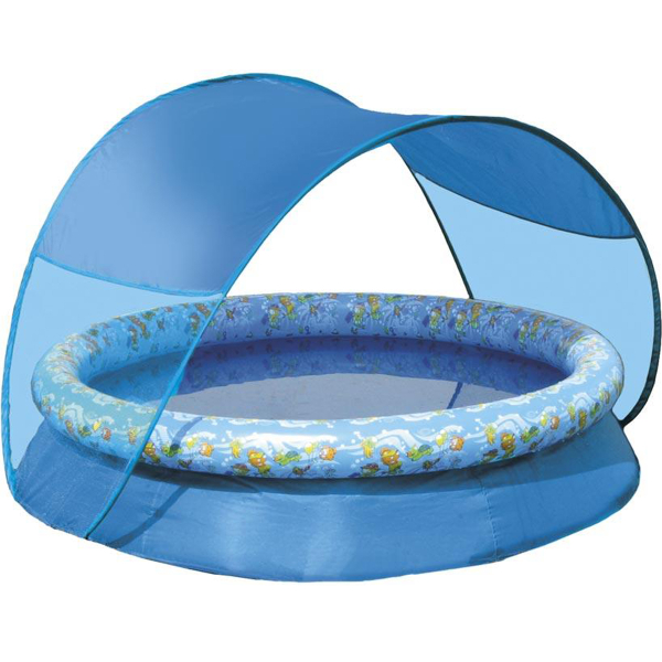 Spring Pool With Canopy By Swimways Pool Supplies
