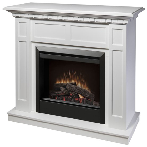 electric fireplaces by dimplex caprice white electric