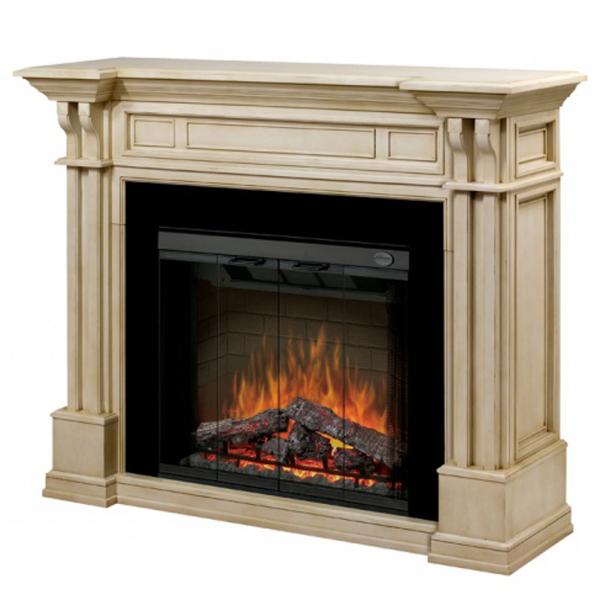 electric fireplaces by dimplex kednal parchment