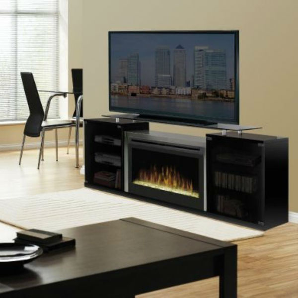 Marana Electric Fireplace Media Console Center By